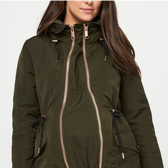 Thyme Maternity Jackets Coats Thyme Maternity 3 In Coat With Extender Panel Poshmark